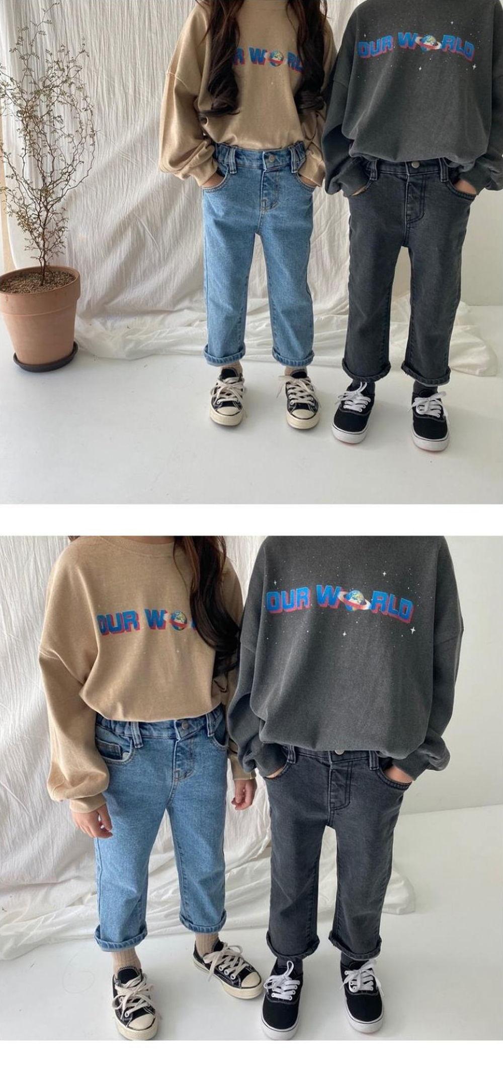 OUR - Korean Children Fashion - #Kfashion4kids - Our World Tee - 2