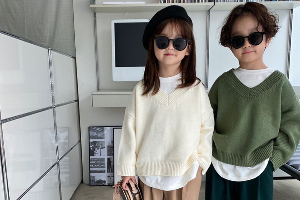 OUR - BRAND - Korean Children Fashion - #Kfashion4kids - Remere Knit Pullover