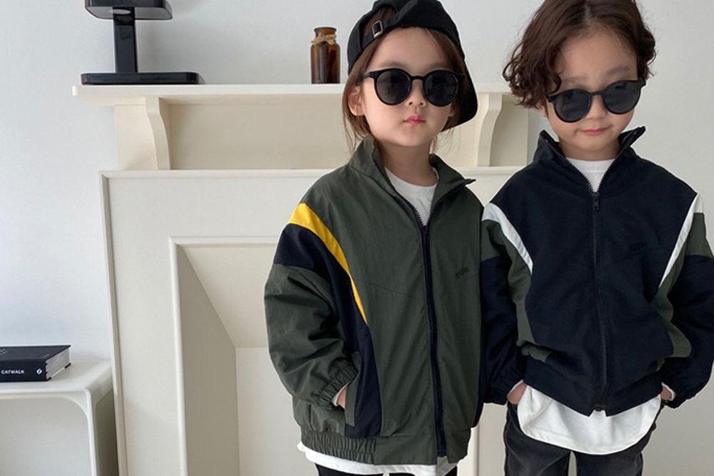 OUR - BRAND - Korean Children Fashion - #Kfashion4kids - Colored Track Jacket