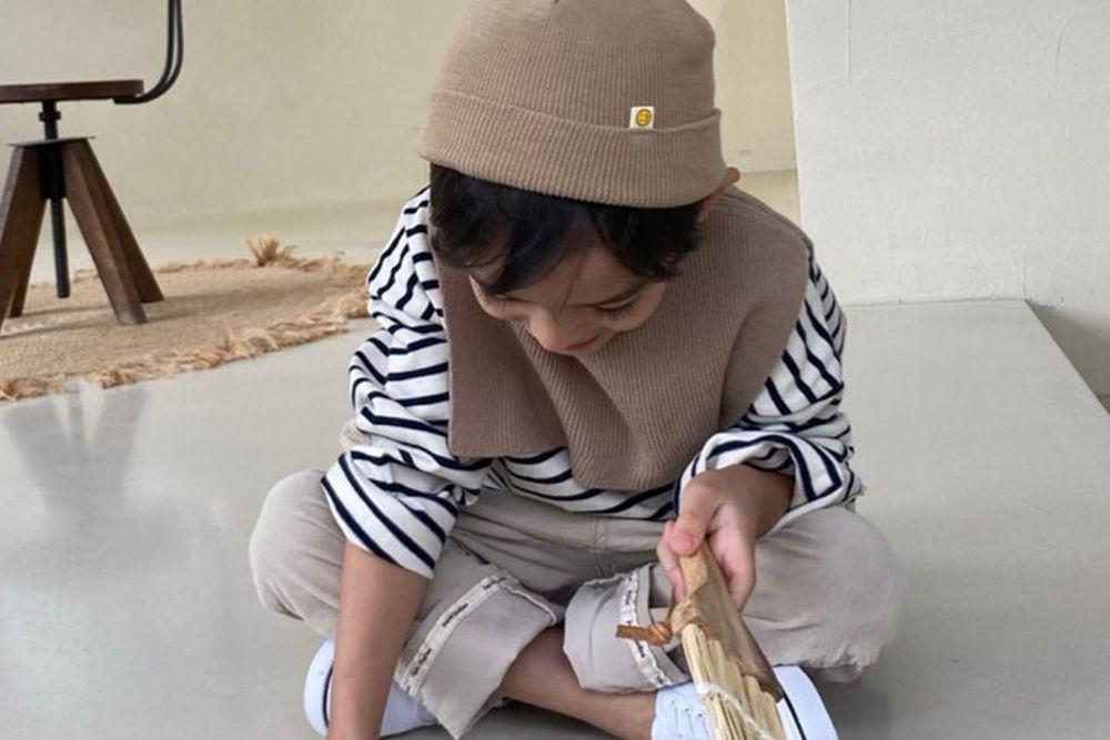 PAPER STUDIOS - BRAND - Korean Children Fashion - #Kfashion4kids - Stripe Tee
