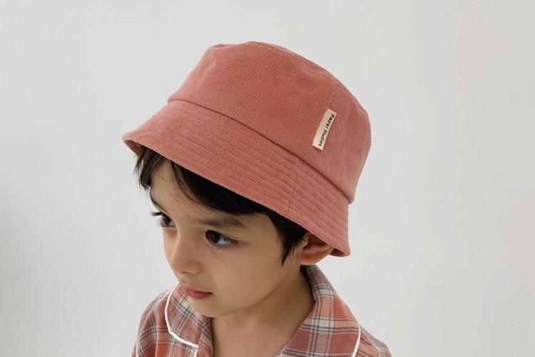 PAPER STUDIOS - BRAND - Korean Children Fashion - #Kfashion4kids - Corduroy Bucket Hat