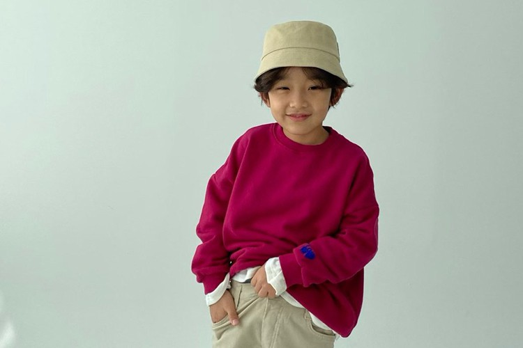 PAPER STUDIOS - BRAND - Korean Children Fashion - #Kfashion4kids - Love Velvet Embroidery MTM