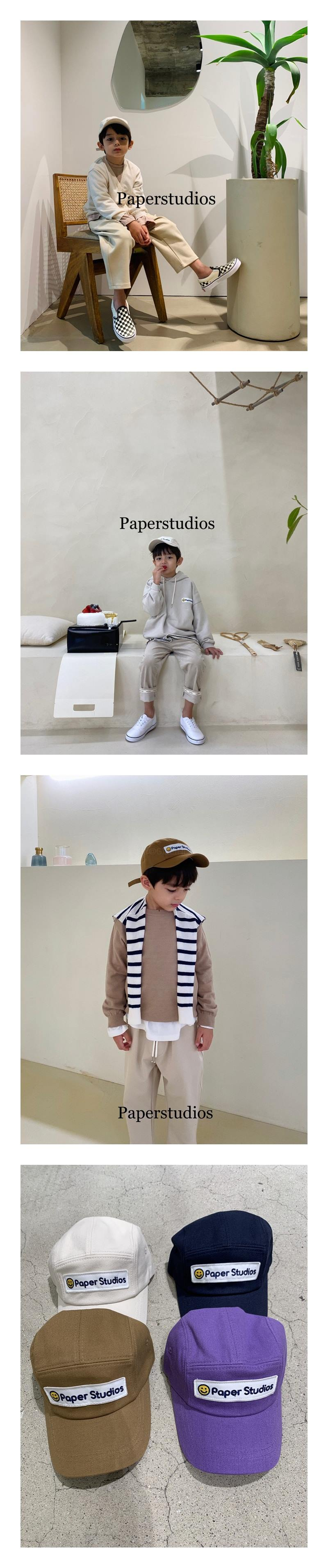 PAPER STUDIOS - Korean Children Fashion - #Kfashion4kids - Smile Cap