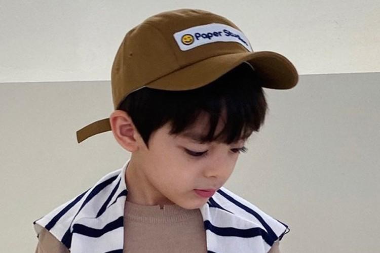 PAPER STUDIOS - BRAND - Korean Children Fashion - #Kfashion4kids - Smile Cap