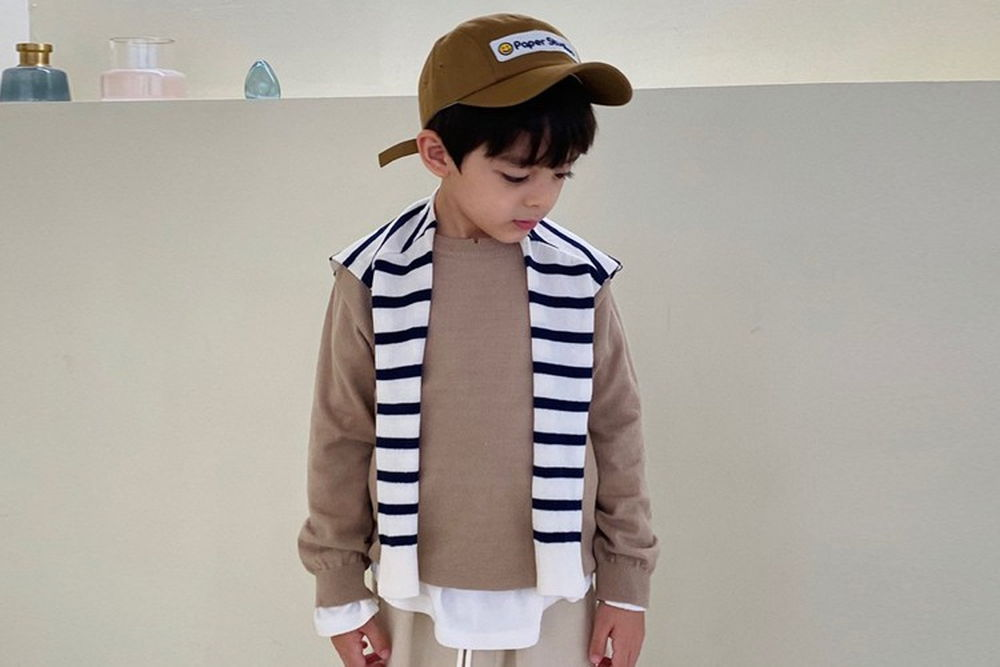 PAPER STUDIOS - BRAND - Korean Children Fashion - #Kfashion4kids - Big Round Knit Pullover