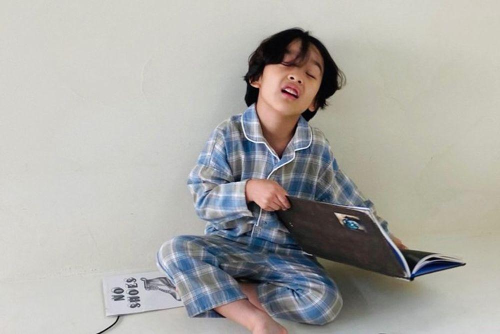 PAPER STUDIOS - BRAND - Korean Children Fashion - #Kfashion4kids - Check Pajamas