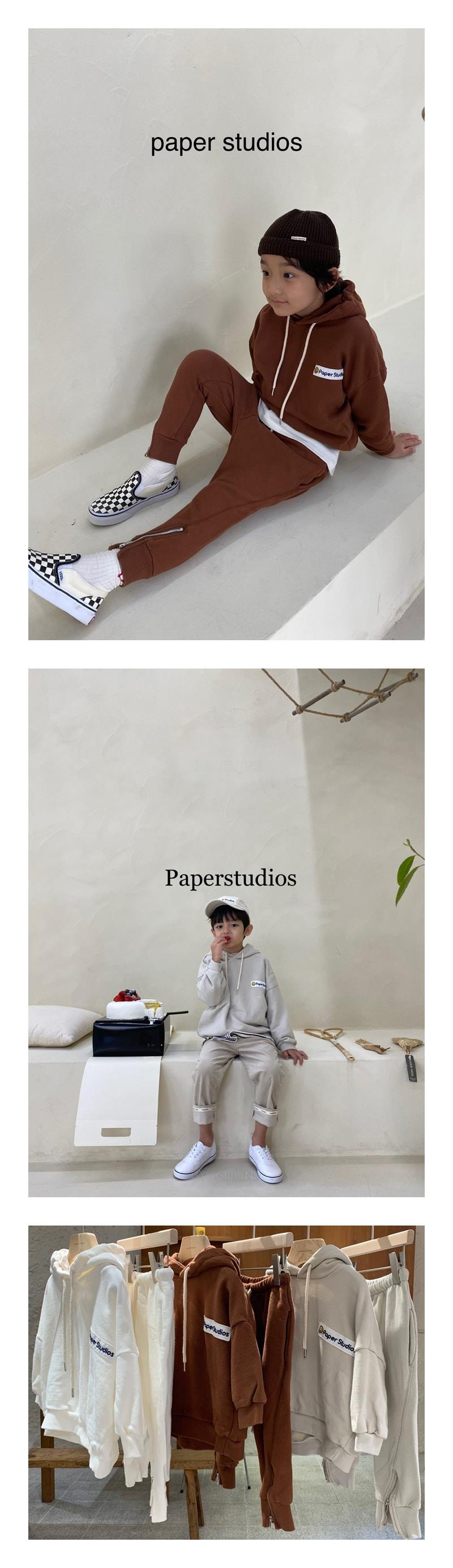 PAPER STUDIOS - Korean Children Fashion - #Kfashion4kids - Paper Hood Top