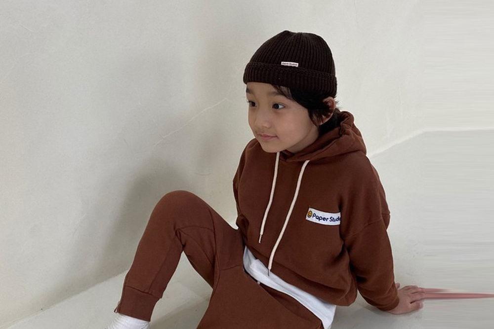 PAPER STUDIOS - BRAND - Korean Children Fashion - #Kfashion4kids - Paper Hood Top