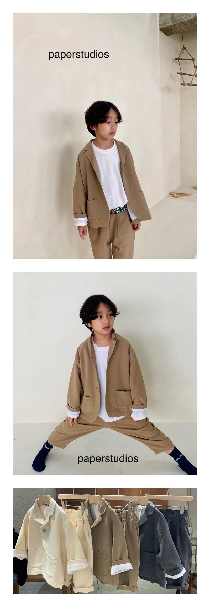 PAPER STUDIOS - Korean Children Fashion - #Kfashion4kids - Hosi Pants
