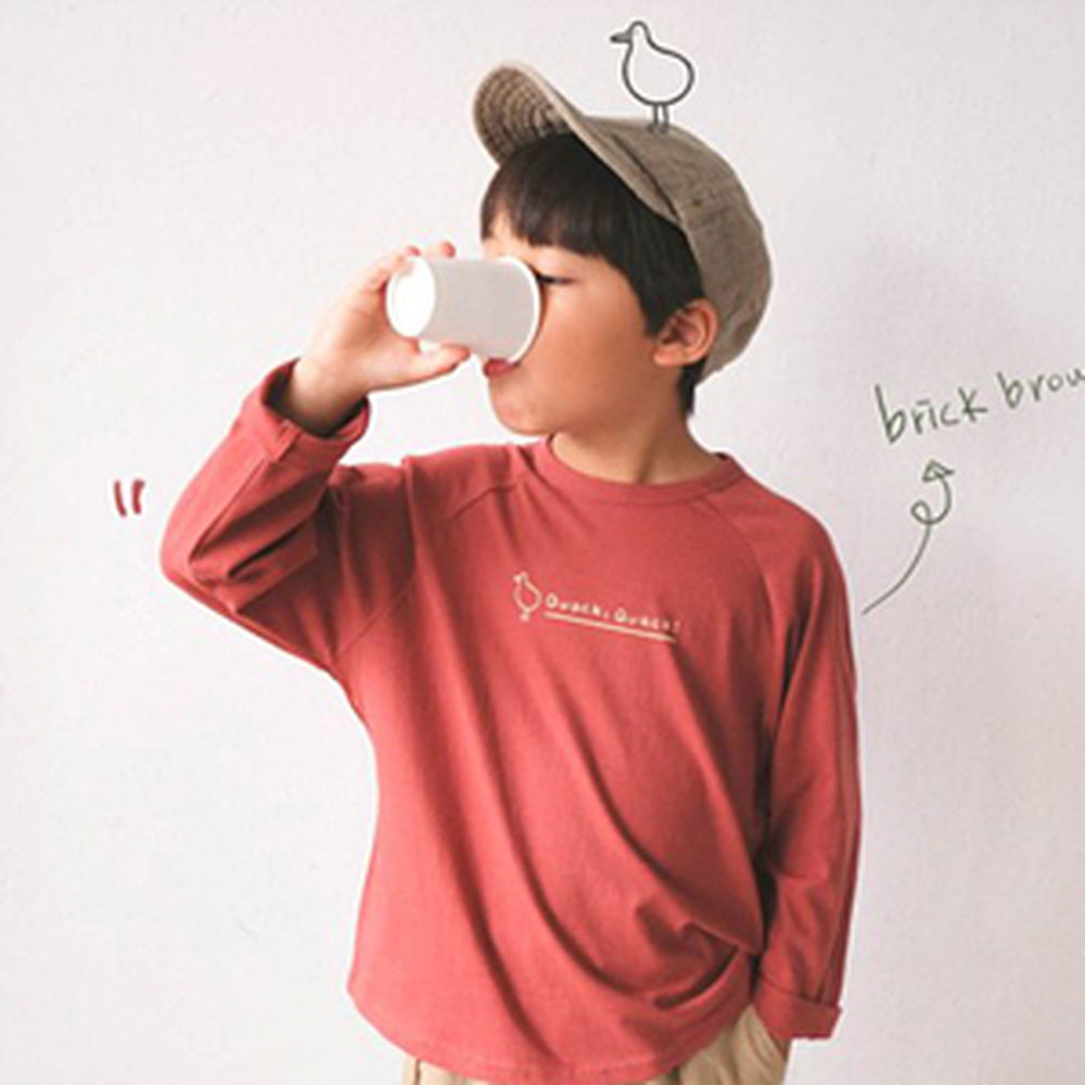 PAUL & NINA - BRAND - Korean Children Fashion - #Kfashion4kids - Duck Tee