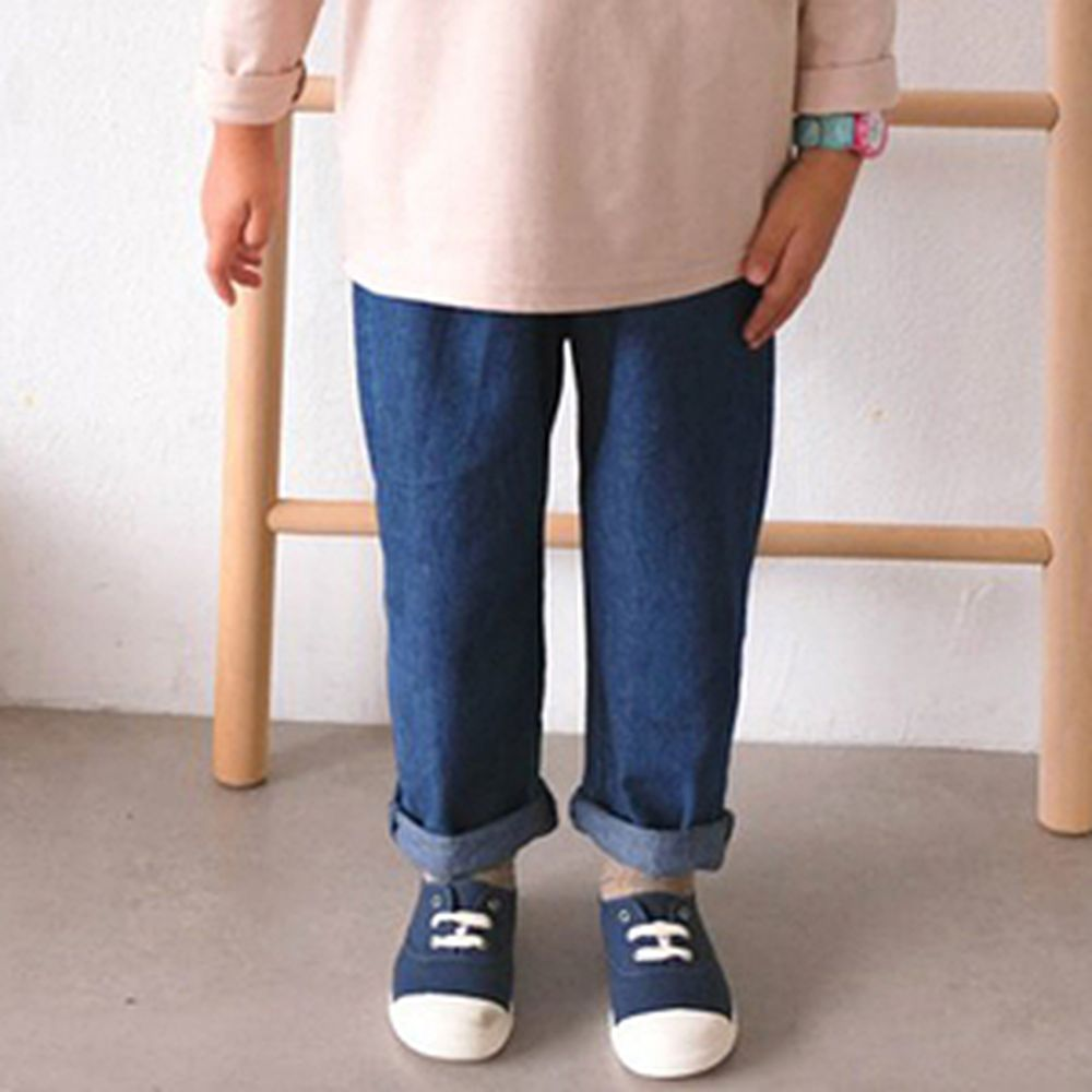 PAUL & NINA - BRAND - Korean Children Fashion - #Kfashion4kids - Fall Thin Blue Jeans