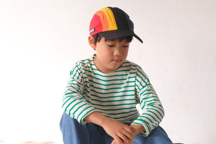 PAUL & NINA - BRAND - Korean Children Fashion - #Kfashion4kids - Fall Stripe Tee