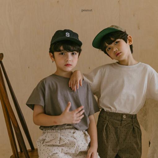 PEANUT - BRAND - Korean Children Fashion - #Kfashion4kids - Ray Short Sleeve Tee