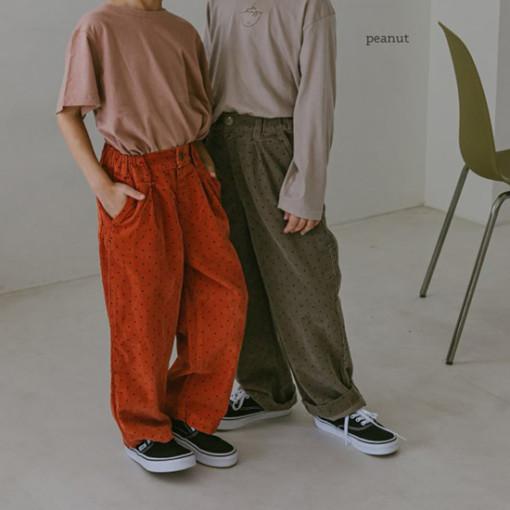PEANUT - BRAND - Korean Children Fashion - #Kfashion4kids - Cracker Pants