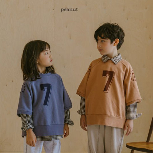 PEANUT - BRAND - Korean Children Fashion - #Kfashion4kids - Gibert Check Shirt