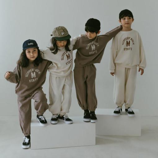 PEANUT - BRAND - Korean Children Fashion - #Kfashion4kids - Play Top Bottom Set