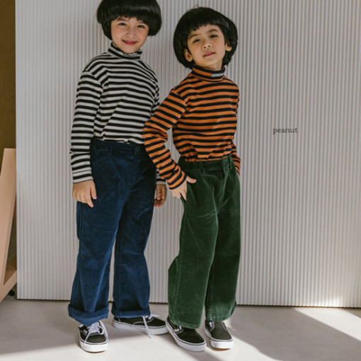 PEANUT - BRAND - Korean Children Fashion - #Kfashion4kids - Retro Pants