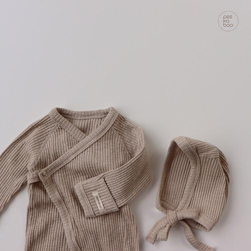 PEEKABOO - BRAND - Korean Children Fashion - #Kfashion4kids - Vanilla Bennet Set