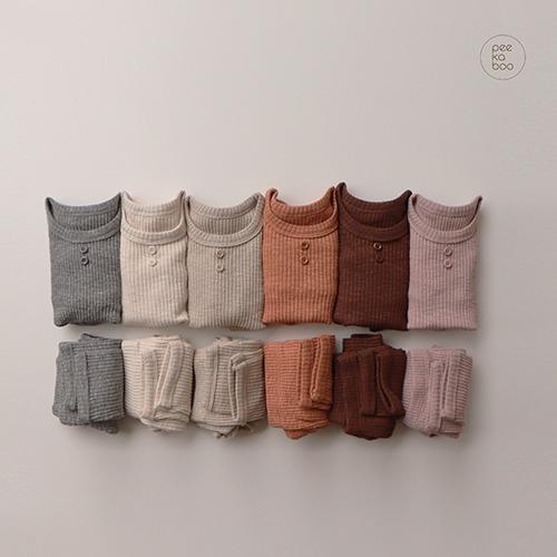 PEEKABOO - BRAND - Korean Children Fashion - #Kfashion4kids - Vanilla Easywear