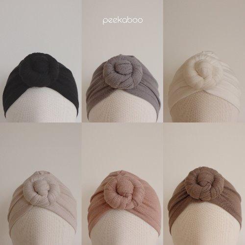 PEEKABOO - BRAND - Korean Children Fashion - #Kfashion4kids - Modal Doughnut Hat