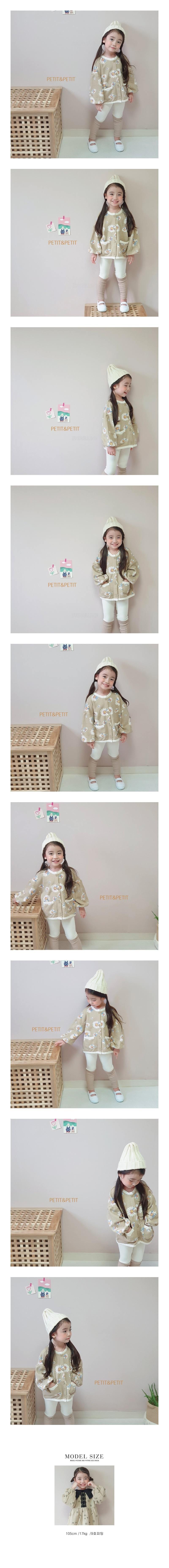 PETIT & PETIT - Korean Children Fashion - #Kfashion4kids - Floral Jacket