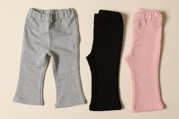 PETIT & PETIT - BRAND - Korean Children Fashion - #Kfashion4kids - Bootscut Pants