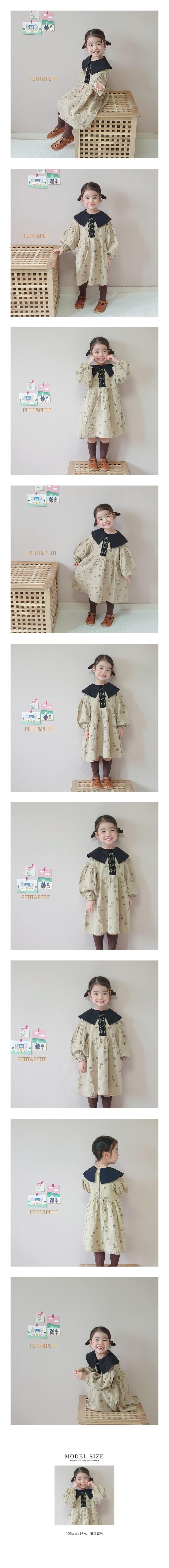 PETIT & PETIT - Korean Children Fashion - #Kfashion4kids - Daisy One-piece