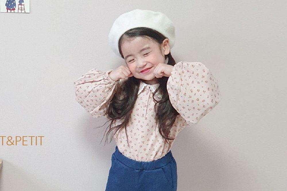 PETIT & PETIT - BRAND - Korean Children Fashion - #Kfashion4kids - Lace Collar Blouse