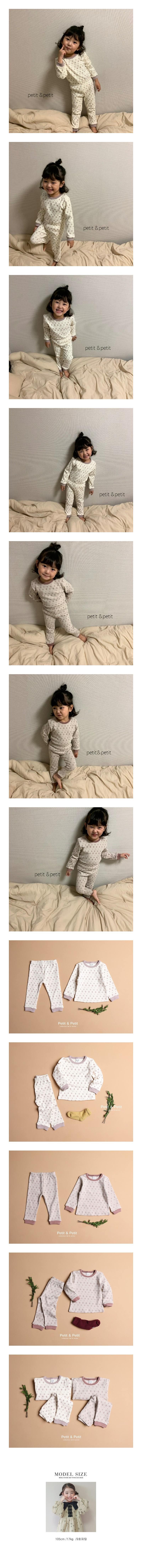 PETIT & PETIT - Korean Children Fashion - #Kfashion4kids - Floral Easywear