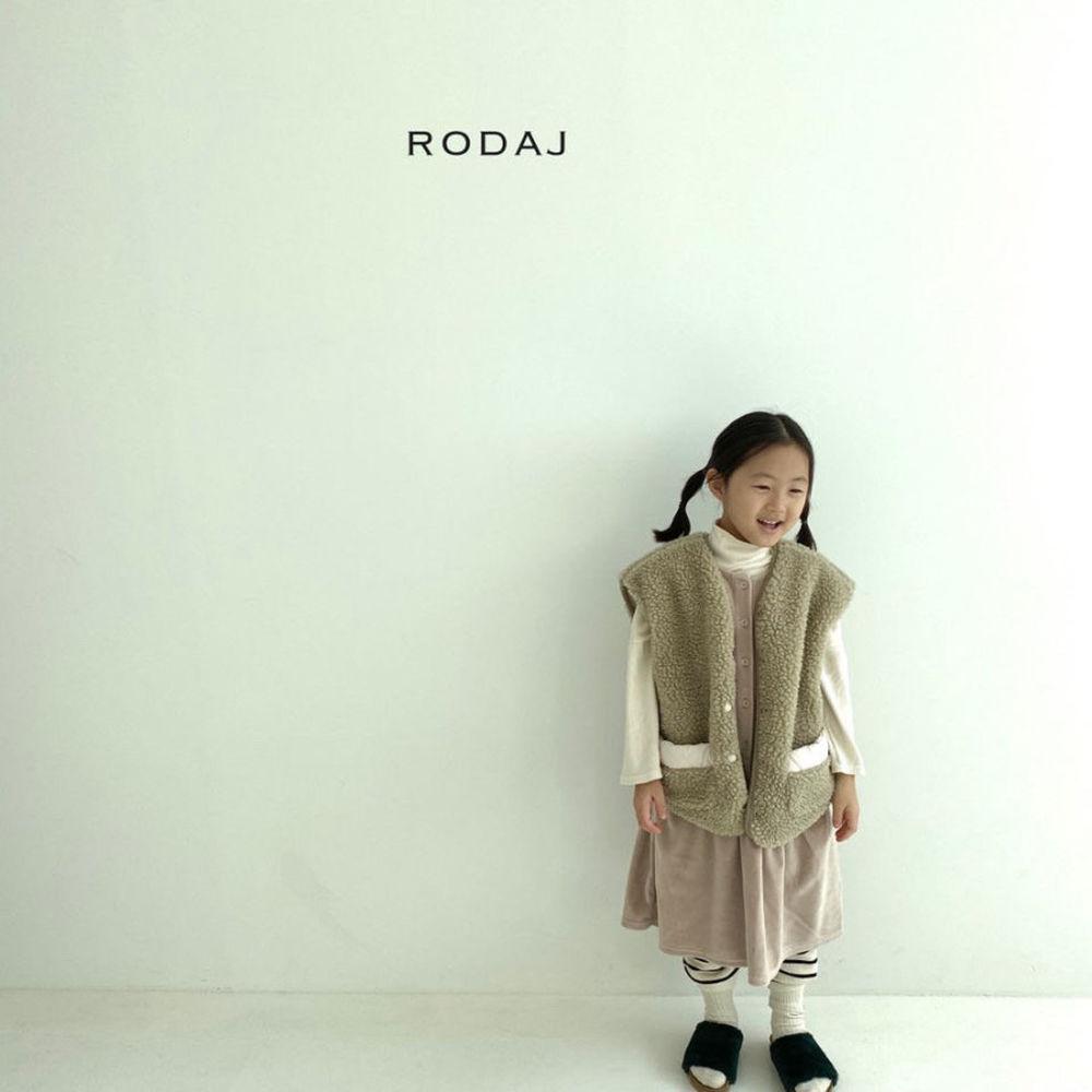 RODA J - Korean Children Fashion - #Kfashion4kids - Cloud Reversible Vest - 10