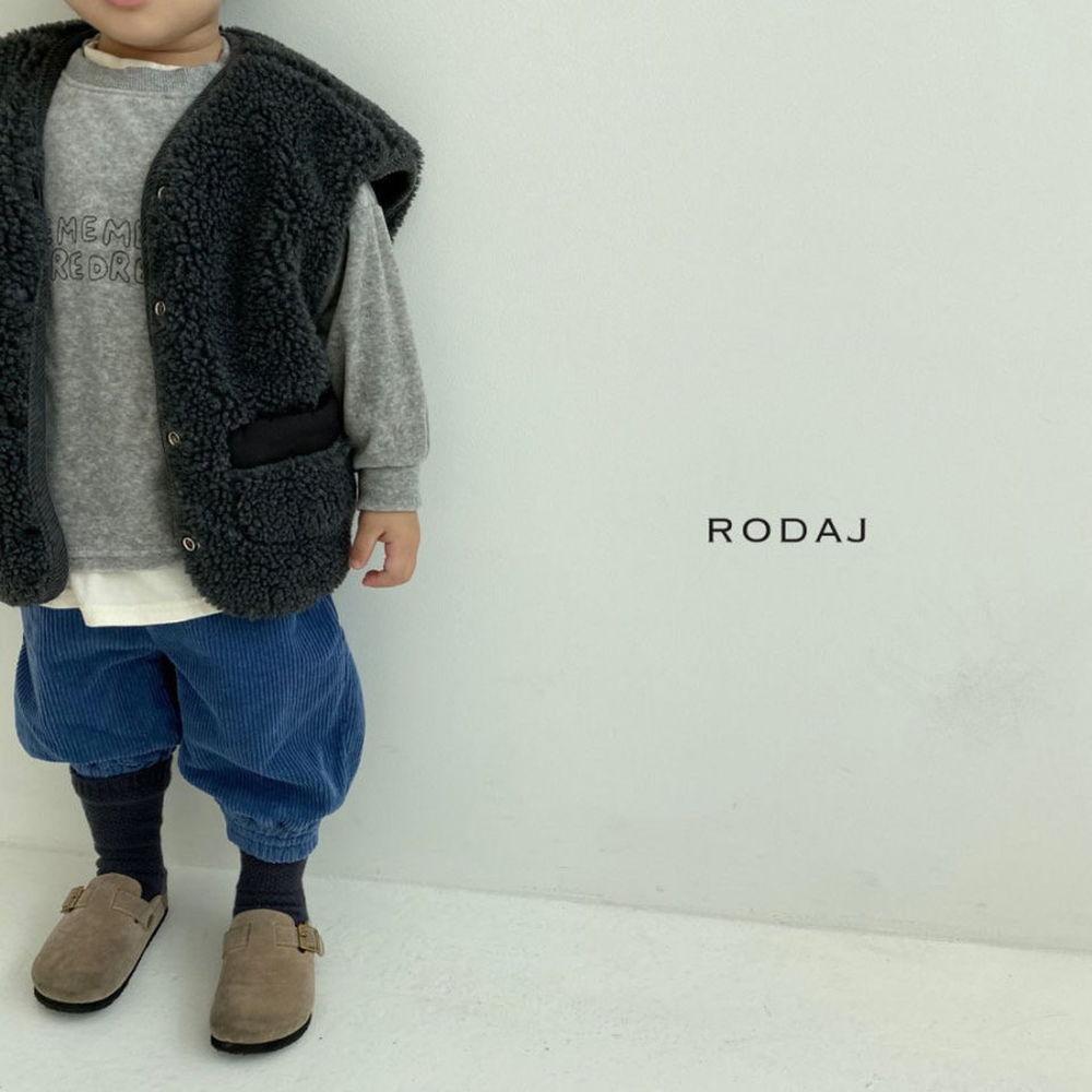 RODA J - Korean Children Fashion - #Kfashion4kids - Cloud Reversible Vest - 11