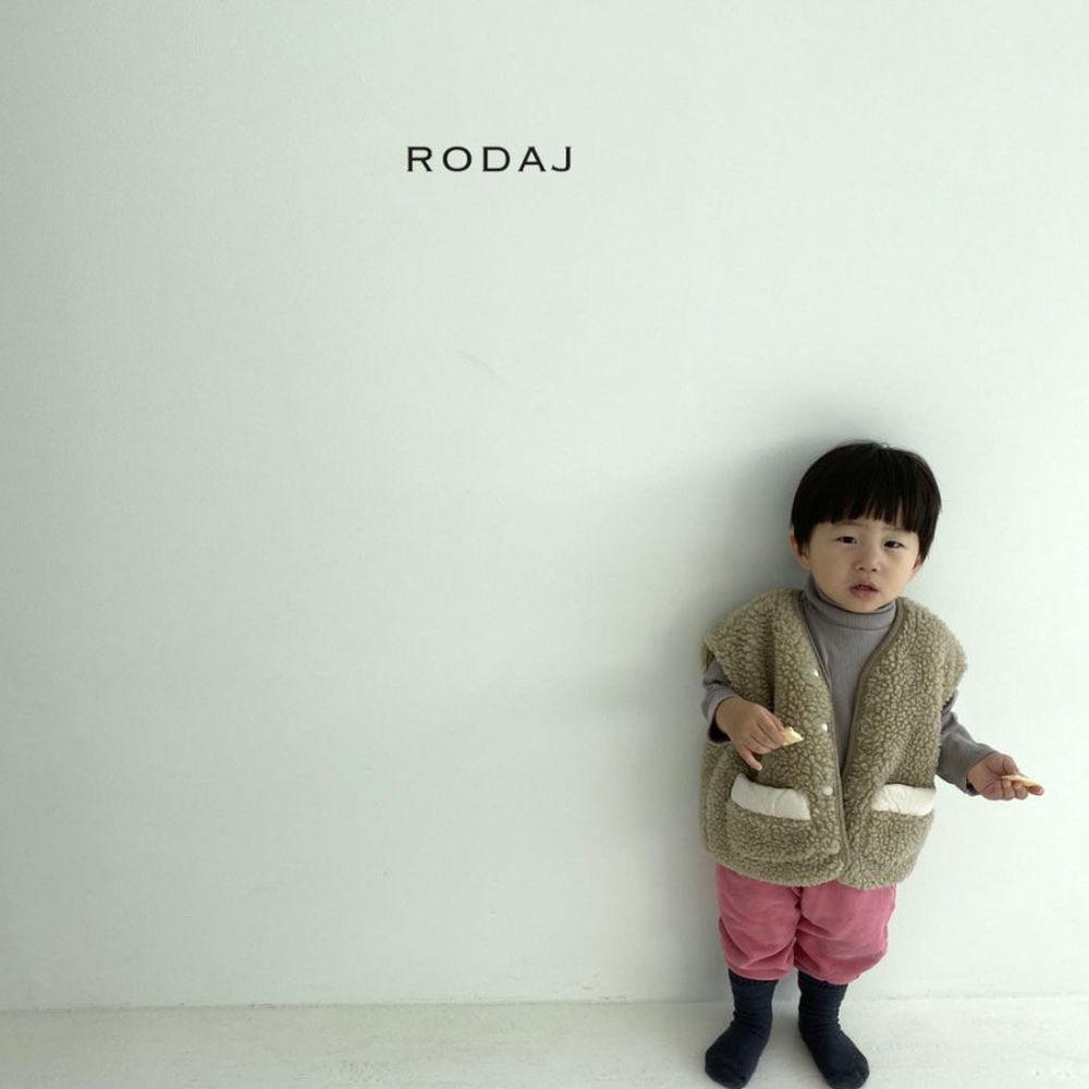RODA J - Korean Children Fashion - #Kfashion4kids - Cloud Reversible Vest - 5