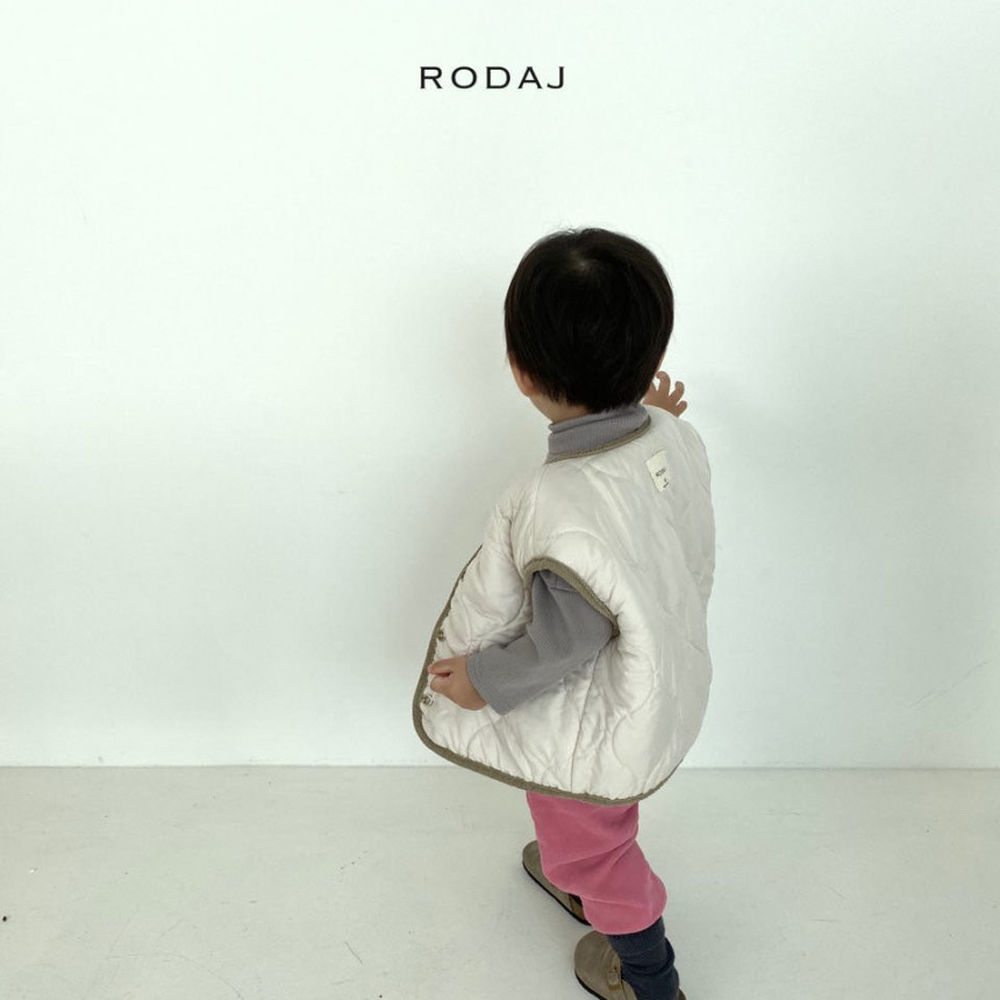 RODA J - Korean Children Fashion - #Kfashion4kids - Cloud Reversible Vest - 6