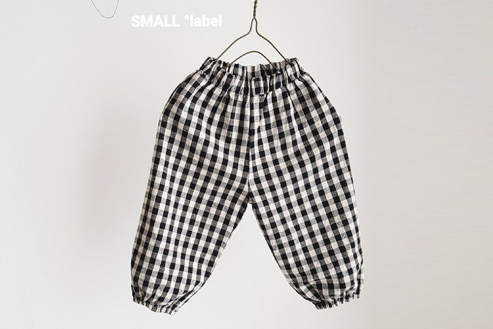 SMALL LABEL - BRAND - Korean Children Fashion - #Kfashion4kids - Check Pants