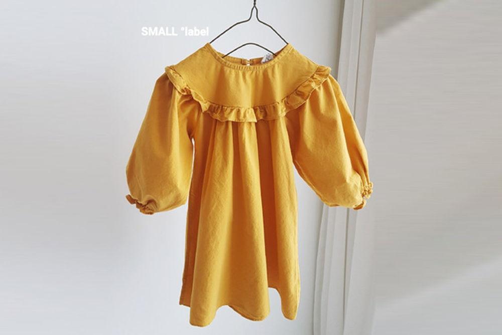 SMALL LABEL - BRAND - Korean Children Fashion - #Kfashion4kids - Choi Frill One-piece