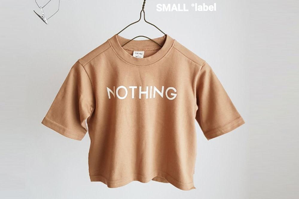 SMALL LABEL - BRAND - Korean Children Fashion - #Kfashion4kids - Nothing Slit Tee
