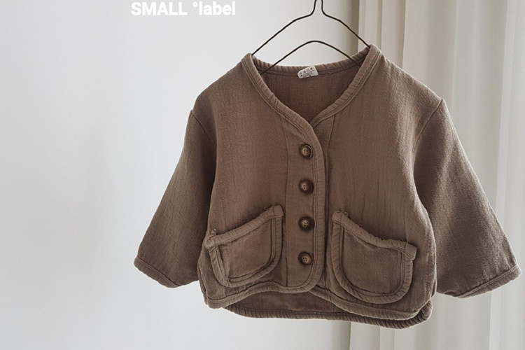 SMALL LABEL - BRAND - Korean Children Fashion - #Kfashion4kids - Piping Basic Cardigan
