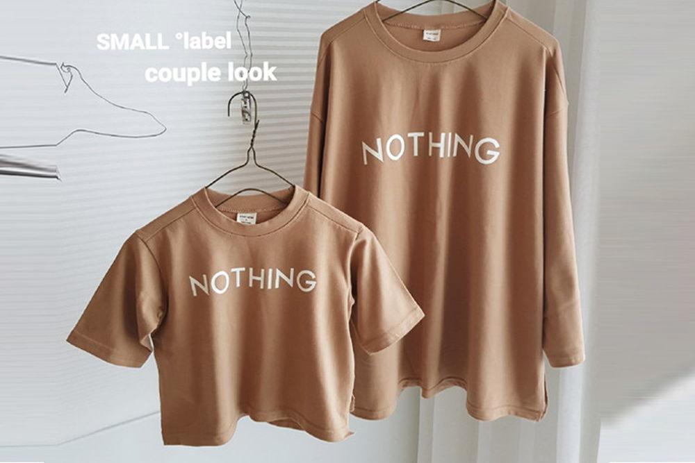 SMALL LABEL - BRAND - Korean Children Fashion - #Kfashion4kids - Mom Nothing Slit Tee