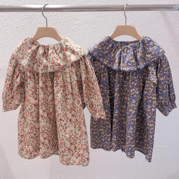 STUDIO M - BRAND - Korean Children Fashion - #Kfashion4kids - Blooming Flower One-piece
