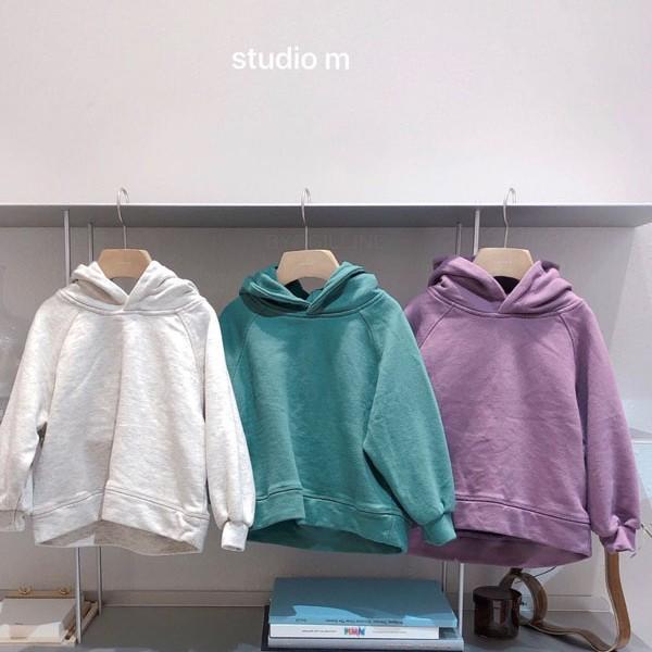STUDIO M - BRAND - Korean Children Fashion - #Kfashion4kids - Loft Hoodie