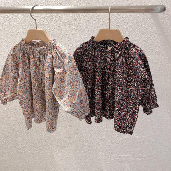 STUDIO M - BRAND - Korean Children Fashion - #Kfashion4kids - Darling Flower Blouse