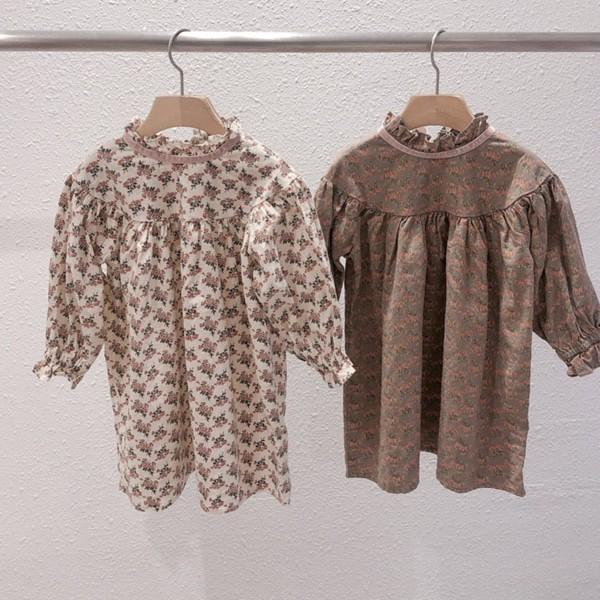 STUDIO M - BRAND - Korean Children Fashion - #Kfashion4kids - Daisy Velvet String One-piece