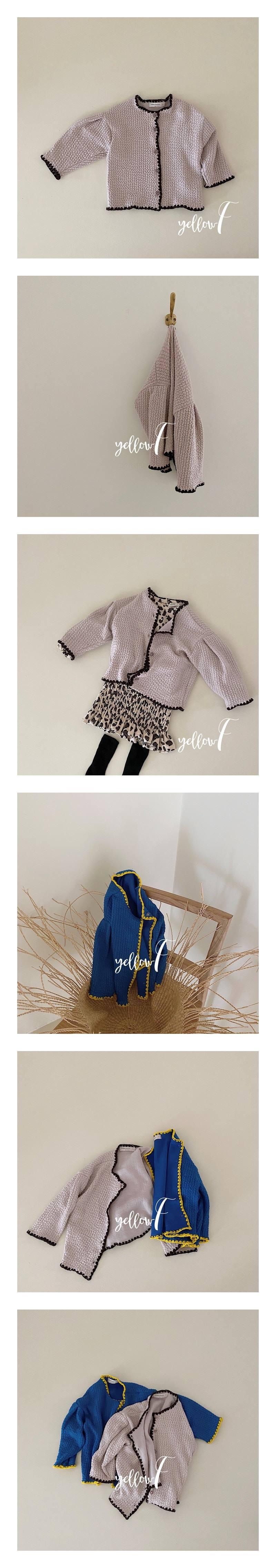 YELLOW FACTORY - Korean Children Fashion - #Kfashion4kids - Remember Cardigan