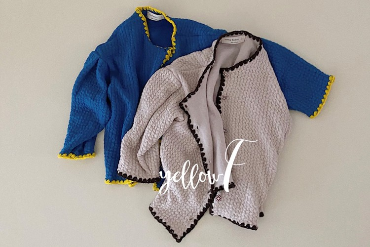 YELLOW FACTORY - BRAND - Korean Children Fashion - #Kfashion4kids - Remember Cardigan