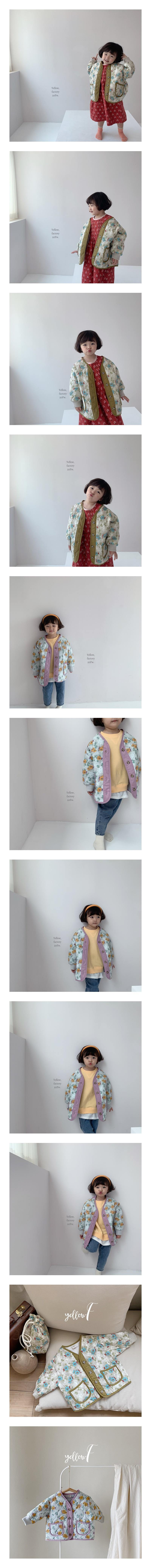 YELLOW FACTORY - Korean Children Fashion - #Kfashion4kids - Camelia Jacket