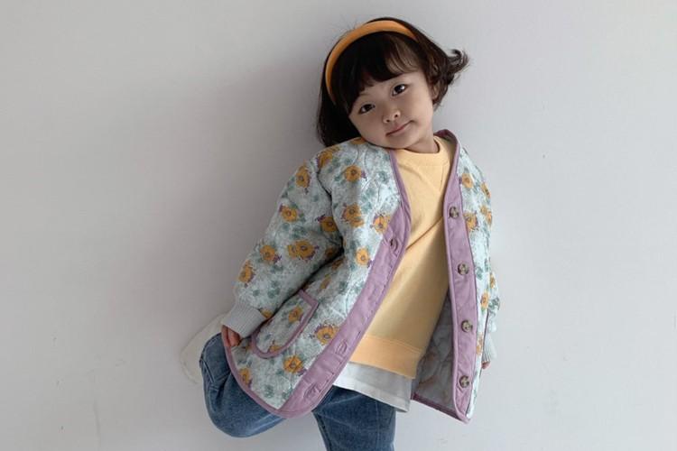 YELLOW FACTORY - BRAND - Korean Children Fashion - #Kfashion4kids - Camelia Jacket