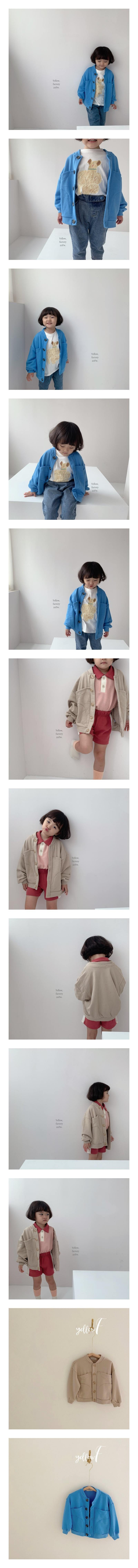 YELLOW FACTORY - Korean Children Fashion - #Kfashion4kids - Nuddle Jacket