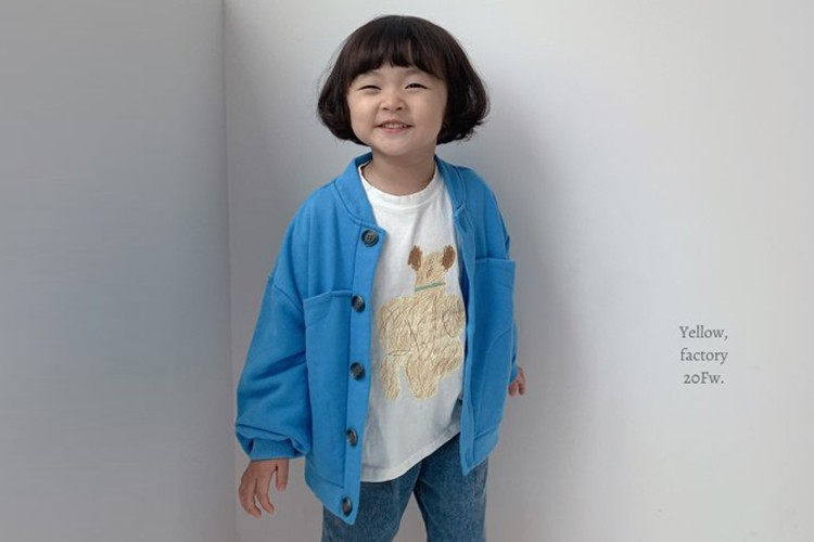 YELLOW FACTORY - BRAND - Korean Children Fashion - #Kfashion4kids - Nuddle Jacket