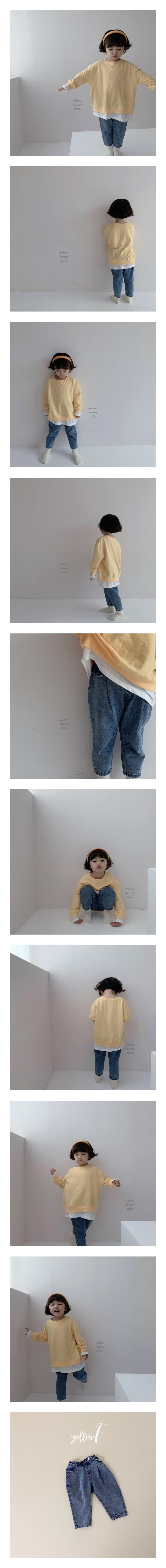 YELLOW FACTORY - Korean Children Fashion - #Kfashion4kids - 103 Denim Pants