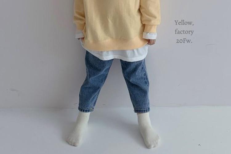 YELLOW FACTORY - BRAND - Korean Children Fashion - #Kfashion4kids - 103 Denim Pants